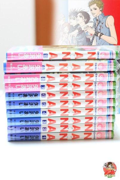 Сет из 10 томов манги Нана | Nana.