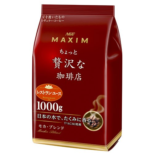 Кофе молотый AGF Maxim 1 кг. [Mocha Blend]
