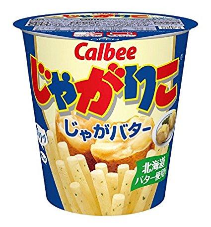 Картофельные палочки со вкусом картофеля с маслом
