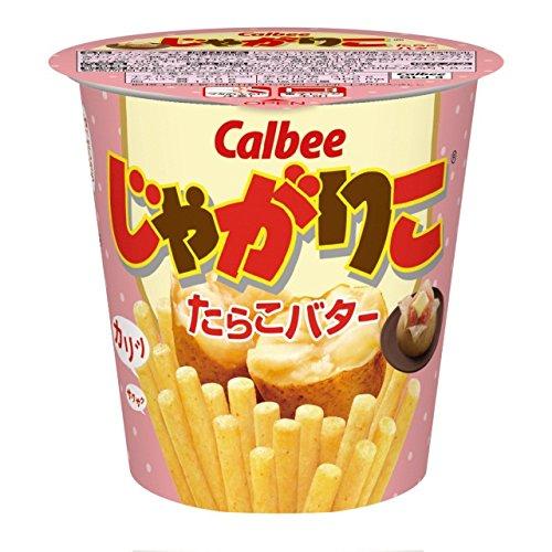 Картофельные палочки со вкусом тресковой икры и масла