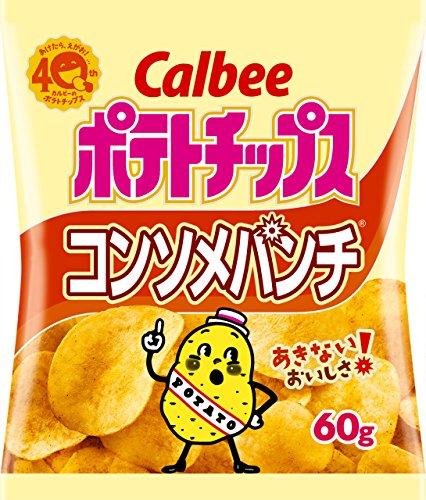 Чипсы Calbee со вкусом консоме