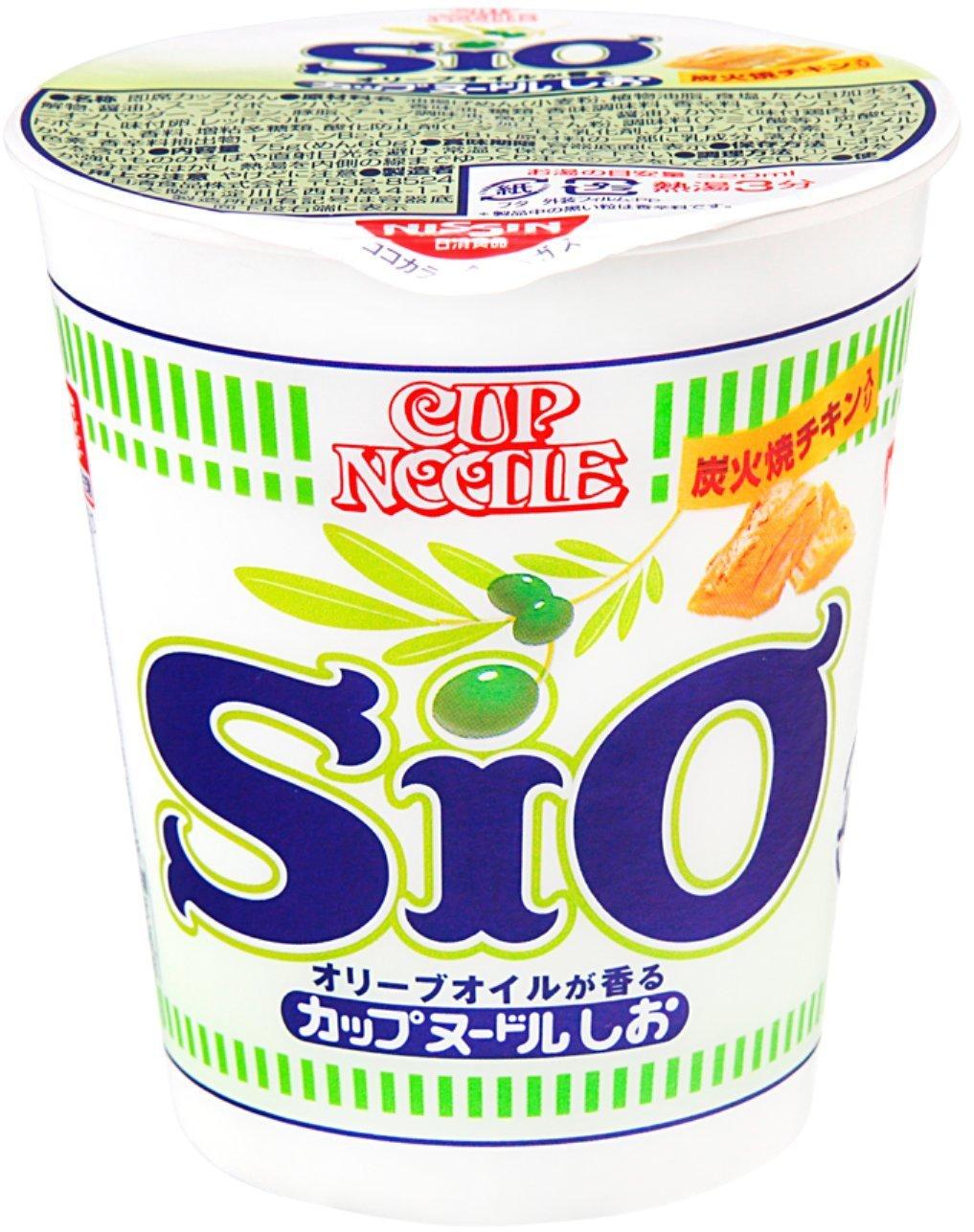 Рамен Cup Noodle (Соль и оливковое масло)