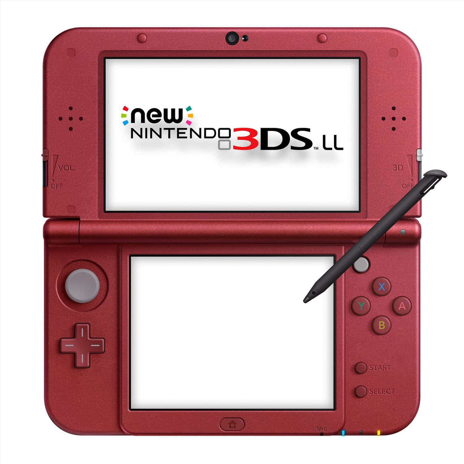 Игровая приставка New Nintendo 3DS XL (Red Metallic) | JPN