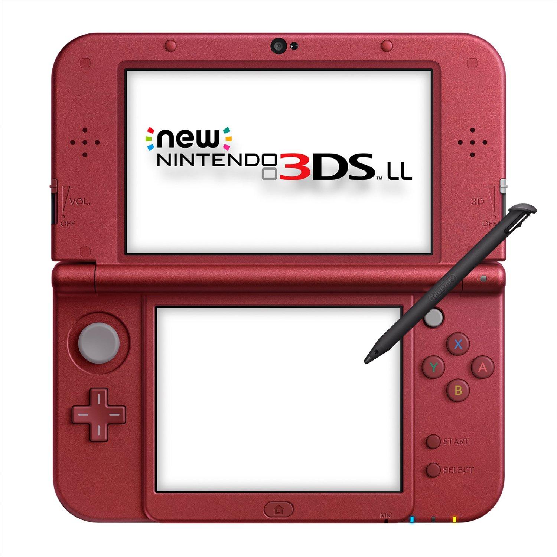 Игровая приставка New Nintendo 3DS XL (Red Metallic) | JPN