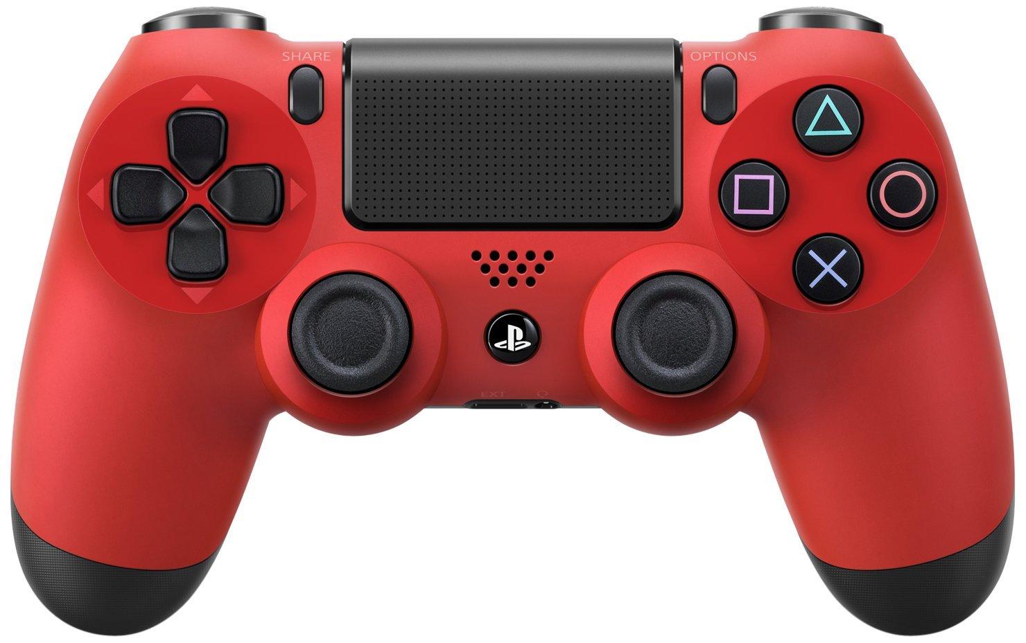 Геймпад беспроводной Sony Dualshock 4 [PS4] (Magma Red)