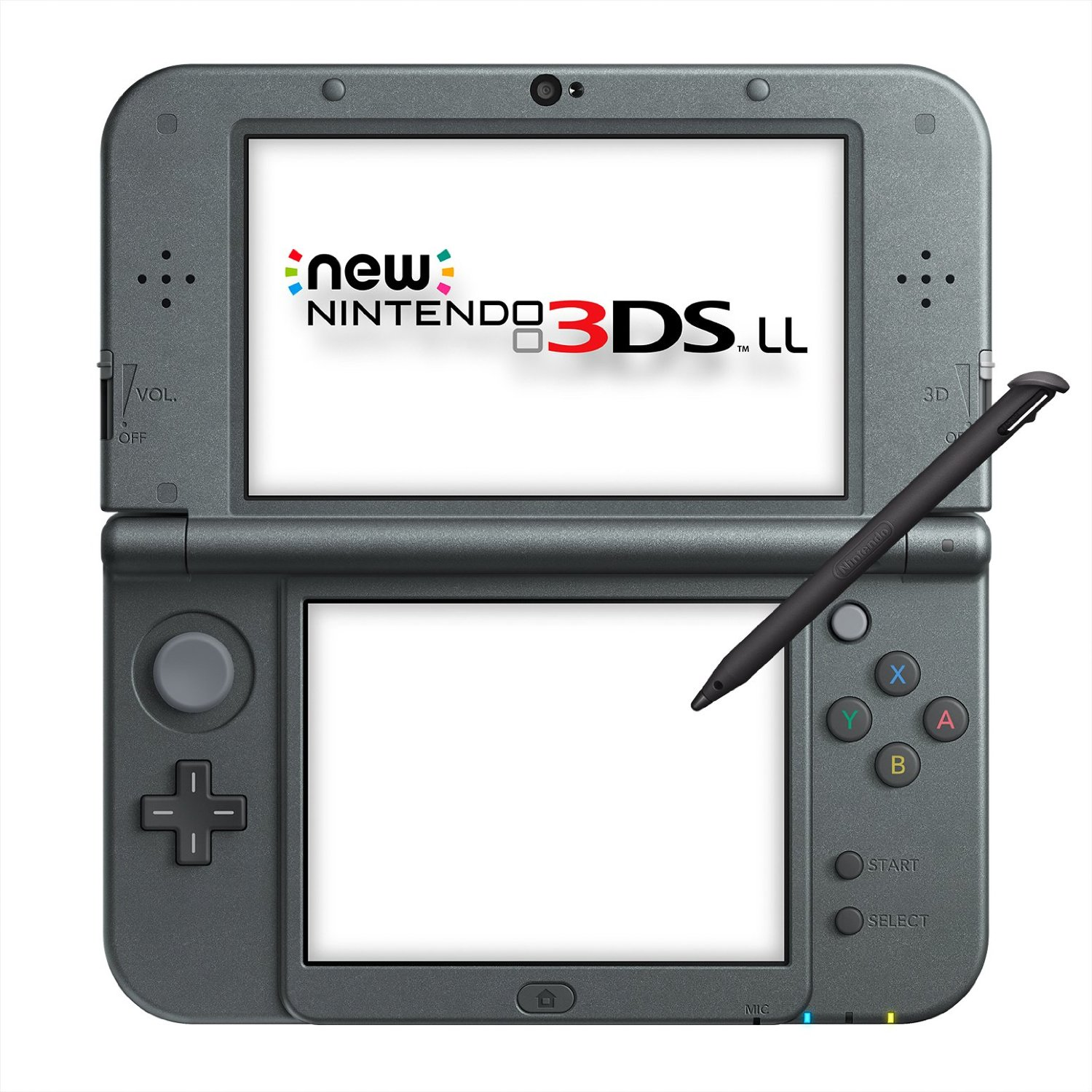 Игровая приставка New Nintendo 3DS XL (Black Metallic) | JPN