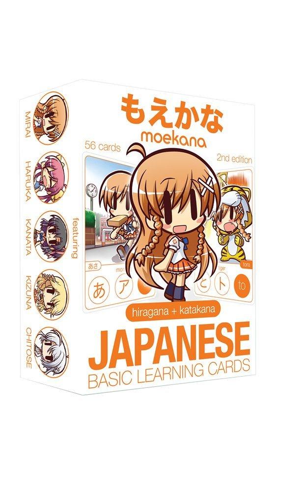 Карточки для изучения Хираганы и Катаканы | Moekana