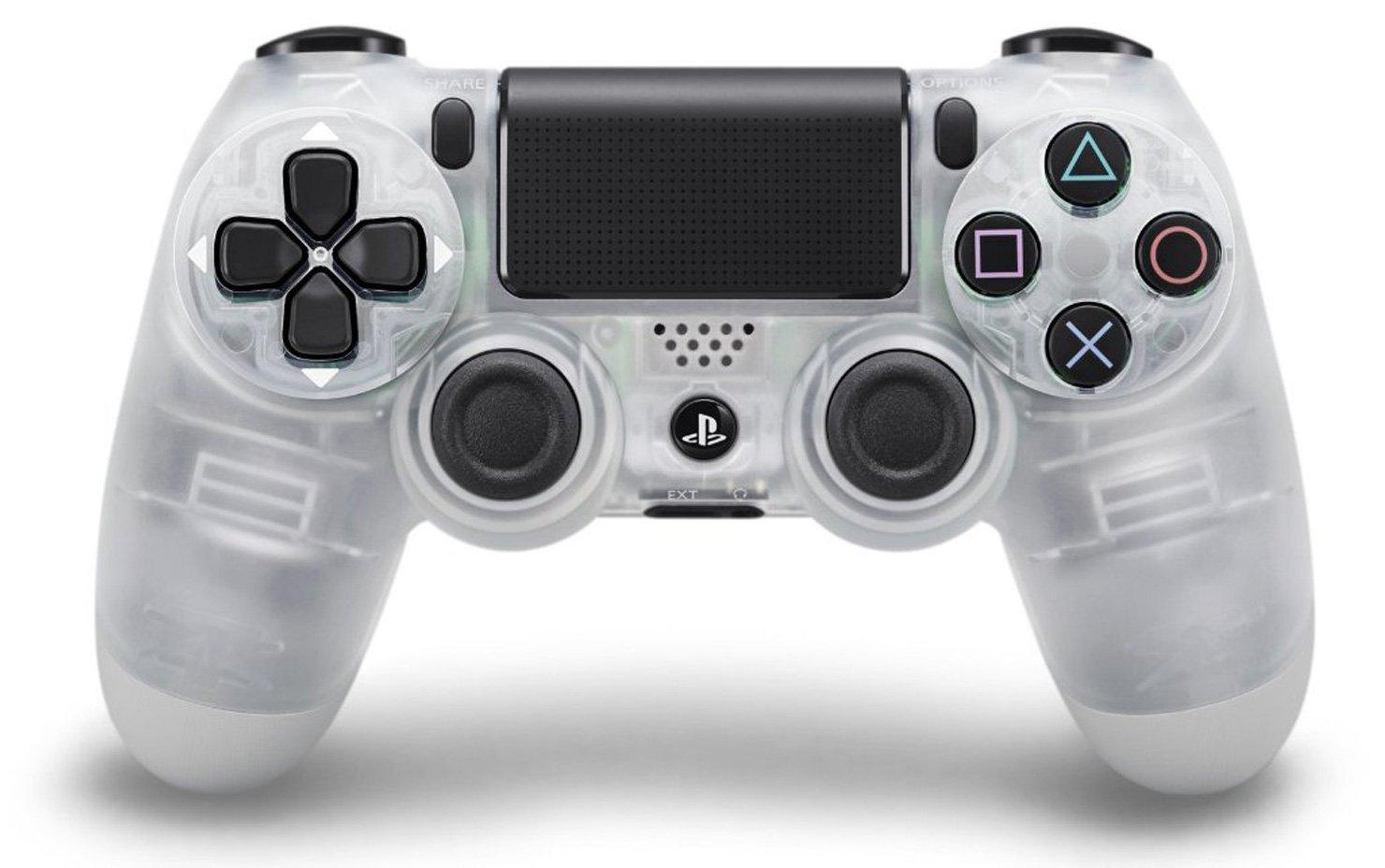 Геймпад беспроводной Sony Dualshock 4 [PS4] (Cristal)