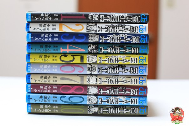 Сет из 10 томов манги Тетрадь смерти | Death Note