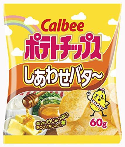 Чипсы Calbee со вкусом масла