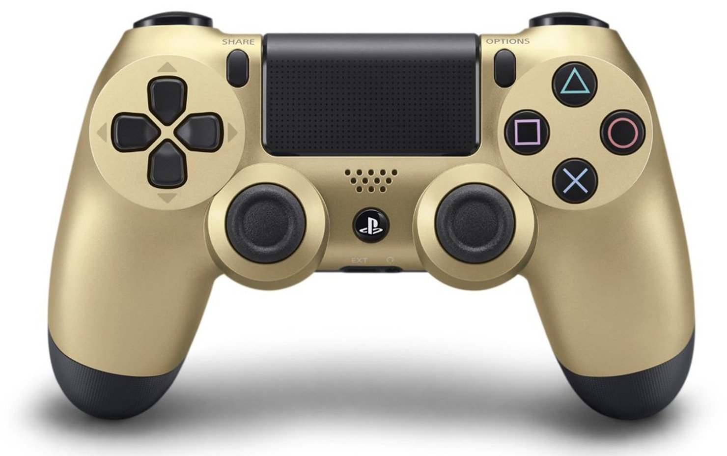 Геймпад беспроводной Sony Dualshock 4 [PS4] (Gold)