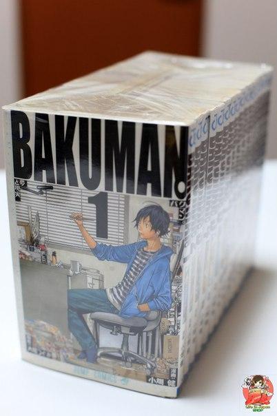 Сет из 10 томов манги Бакуман | Bakuman