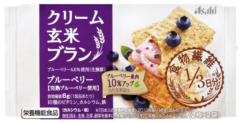 Диетическое печенье из коричневого риса с кремом