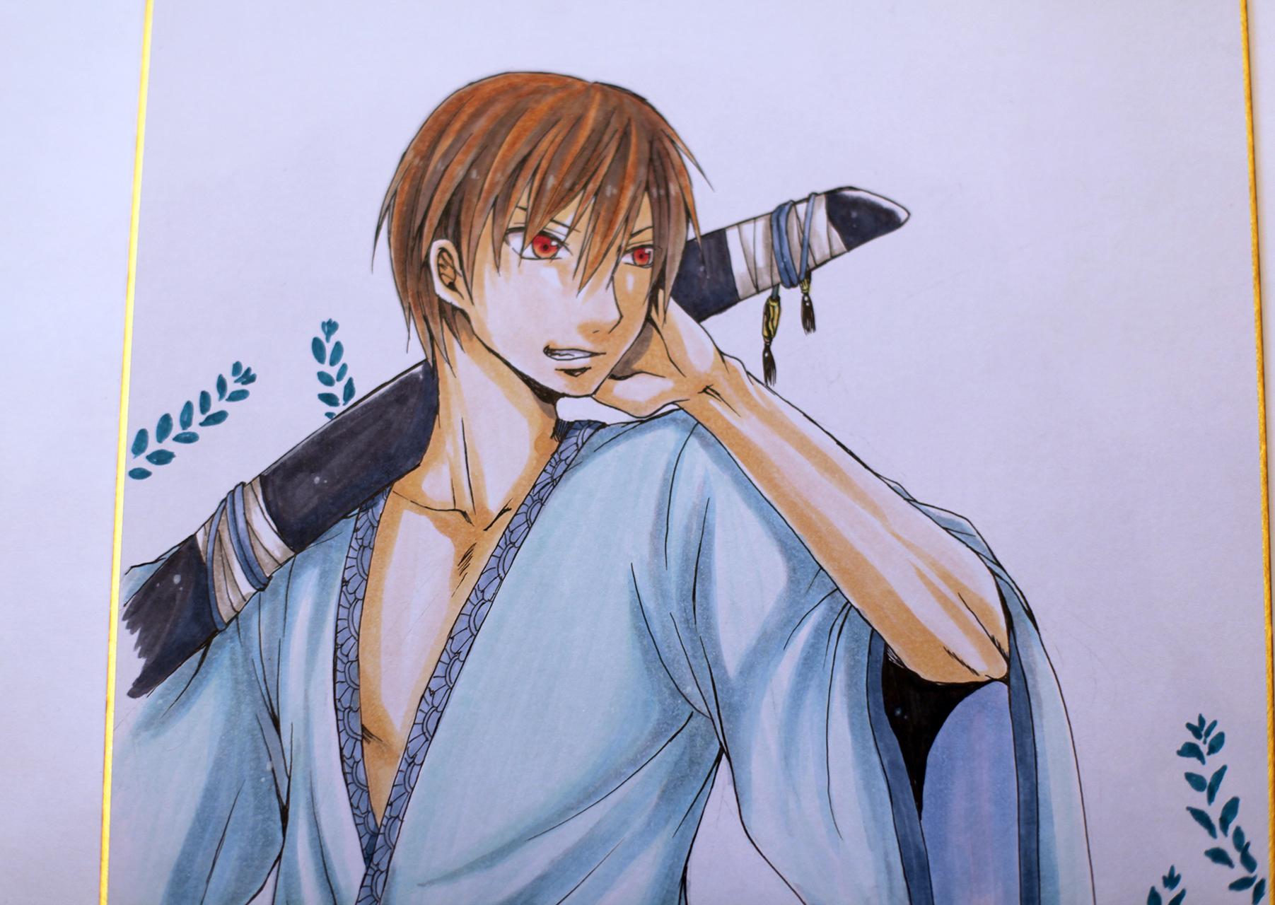 """Рисунок """"Самурай с мечом"""""""